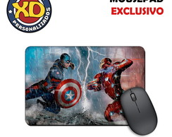 Mousepad Emborrachado Guerra Civil
