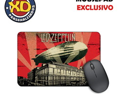 Mousepad Emborrachado Rock Led Zeppelin