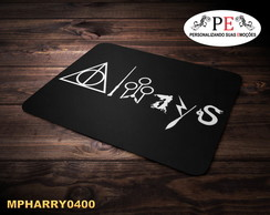 Mouse pad símbolos Harry Potter