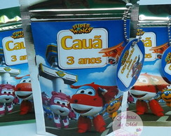 Saquinho Metalizado Super Wings