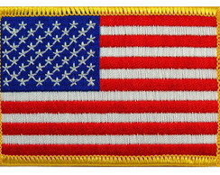 Bandeira USA Estados Unidos Patch