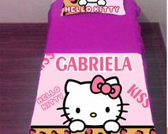 Colcha Hello Kitty Personalizada