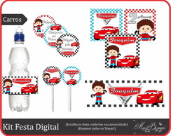 Festa Digital - Carros Disney