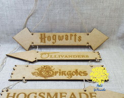 *Placas Harry Potter