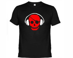 Camisetas Dj Pirata