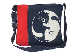 BAG NAVY BLUE YING YANG