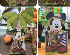 Kit festa - Caixas Mickey Safari