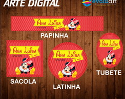 Kit arte digital Minnie