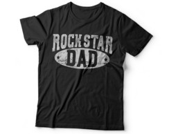 CAMISETA ROCK STAR DAD
