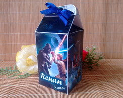 Mini caixa milk Star Wars