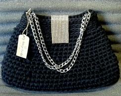 ... Bolsa Crochet social de mão c5fda5c5a1f