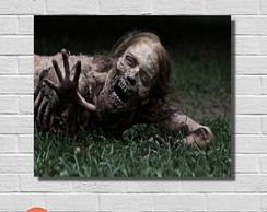 Placa Decorativa - The Walking Dead