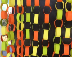 Painel NEON Correntes SUPER CHAINS