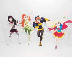 Aplique super Hero Girls