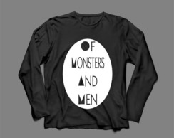 Manga Longa Feminina Of Monsters And Men