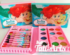 Kit Pintura / Estojo Colorir