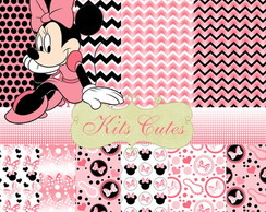 Kit Papéis Minnie 11