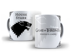 Caneca Game of Thrones - Casa Stark