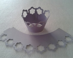 Wrapper para mini cupcake 50 unidades