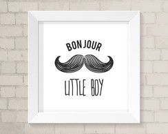 Quadro Infantil - BonJour Little Boy