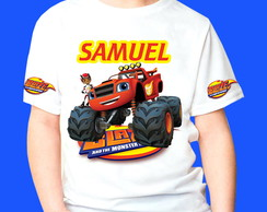 Camiseta Blaze Monster Machines 1