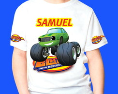 Camiseta Blaze Monster Machines 2