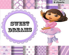 Kit scrapbook digital Dora Bailarina