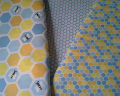 Fat quarter - Kit de tecidos tricoline