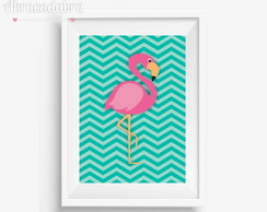 Poster Digital Flamingo