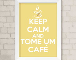 Quadro A4 - Keep Calm