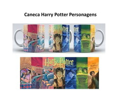 Caneca Harry Potter - Personagens