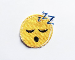 Patch Bordado Termocolante Emoji Sono