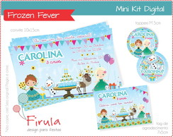 Mini Kit Digital Frozen Fever
