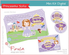 Mini Kit Digital Princesa Sofia