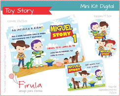 Mini Kit Digital Toy Story