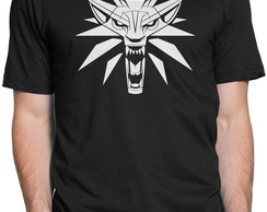 Camiseta Lobo The Witcher