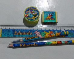 kit escolar pokemon