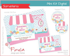 Mini Kit Digital Sorveteria