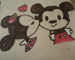 GRIMÓRIO A6P100 - MICKEY E MINNIE