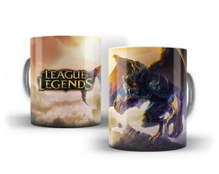 Caneca LOL League of Legends - Galio
