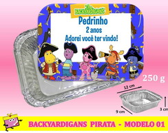 Marmitinha Backyardigans Pirata - Mod 01