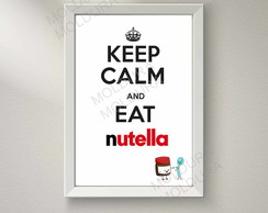 Quadro Decorativo (Nutella)