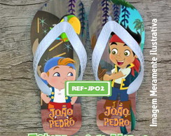 Chinelo JAKE E OS PIRATAS