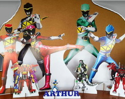 POWER RANGERS MDF DISPLAYS
