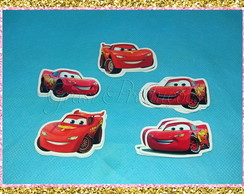 Aplique 5 Cm - Carros da Disney