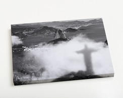 Quadro P Sombra do Cristo Redentor nas N