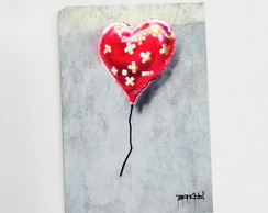 Quadro P Broken Heart Balloon