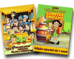 chaves revista para colorir 14x10