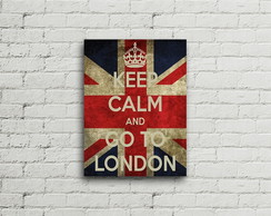 Placa Vintage Retro Keep Calm