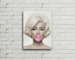 Placa Vintage Retro Marilyn Monroe